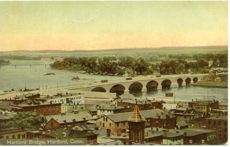 Postcardbulkeleybridgehartfordct