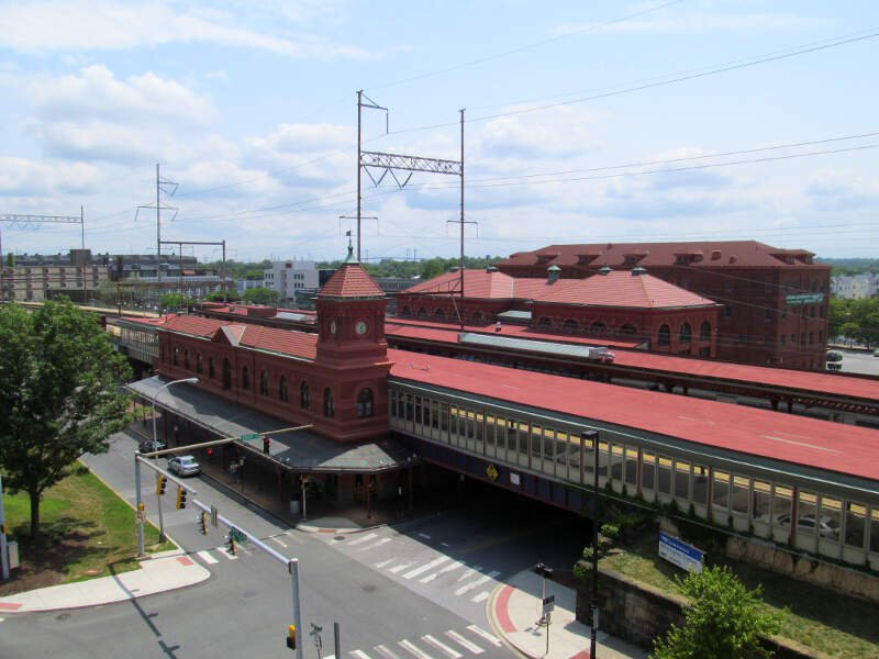 Wilmington Station From Parking Garagec July