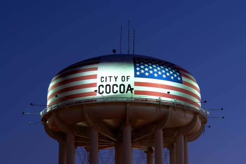 Cocoa Watertower