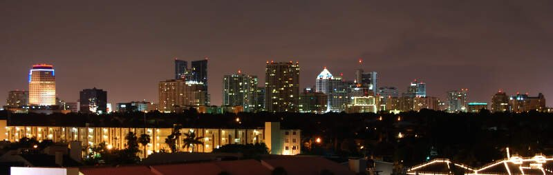 Ft Lauderdale Skyline