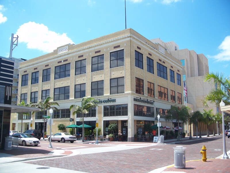Fort Myers Fl Downtown Hd Kress Bldg