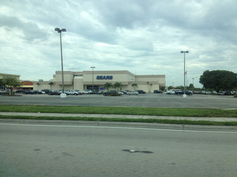 A View Of The Sears Of Hialeahs Westland Mall
