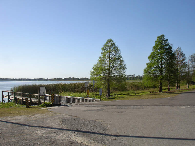 Lake Rochelle Boat Ramp Lakealfredfl