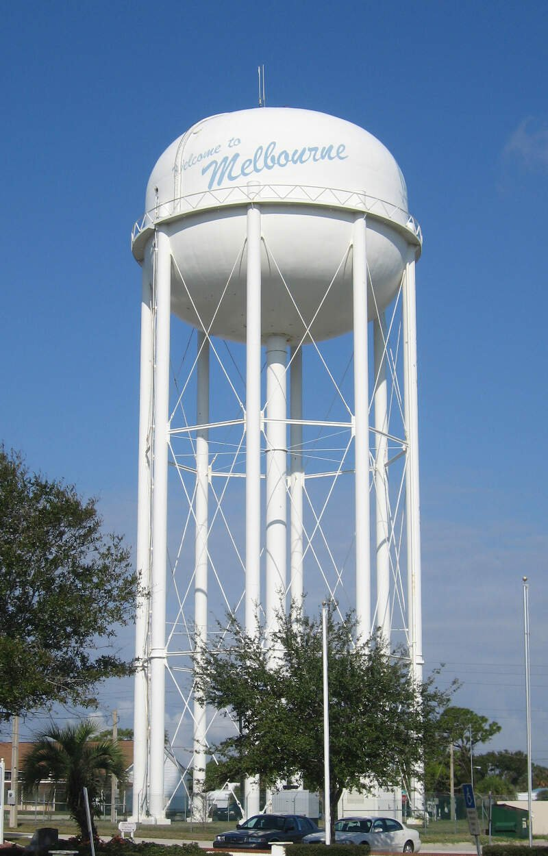 Melbourne Water Tower Florida
