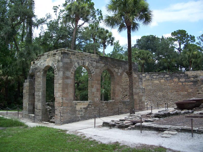 New Smyrna Sugar Mill Ruins