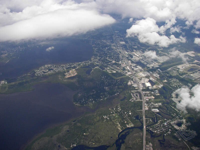 Aerial View Of Oldsmarc Florida
