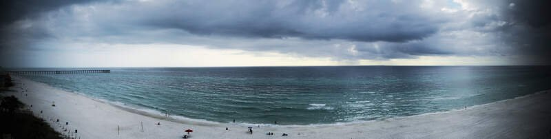 Panama Beach Panorama