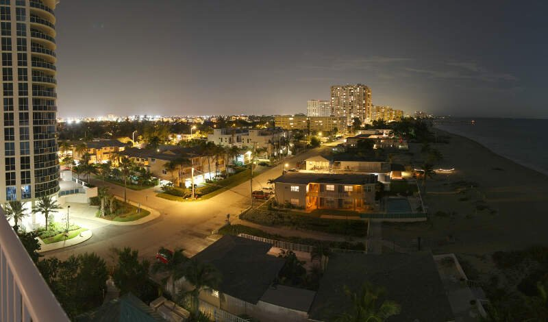 Briney Avenuec Pompano Beach   Panorama