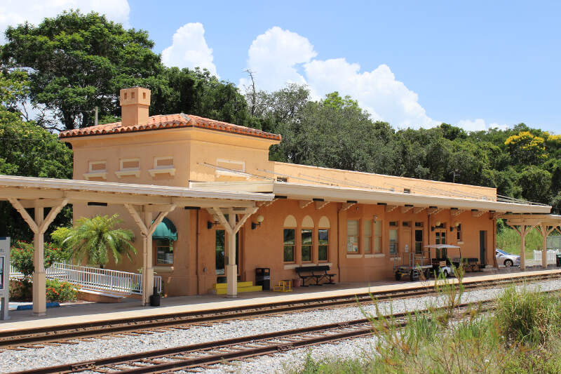 Sebring Train Station From Nw