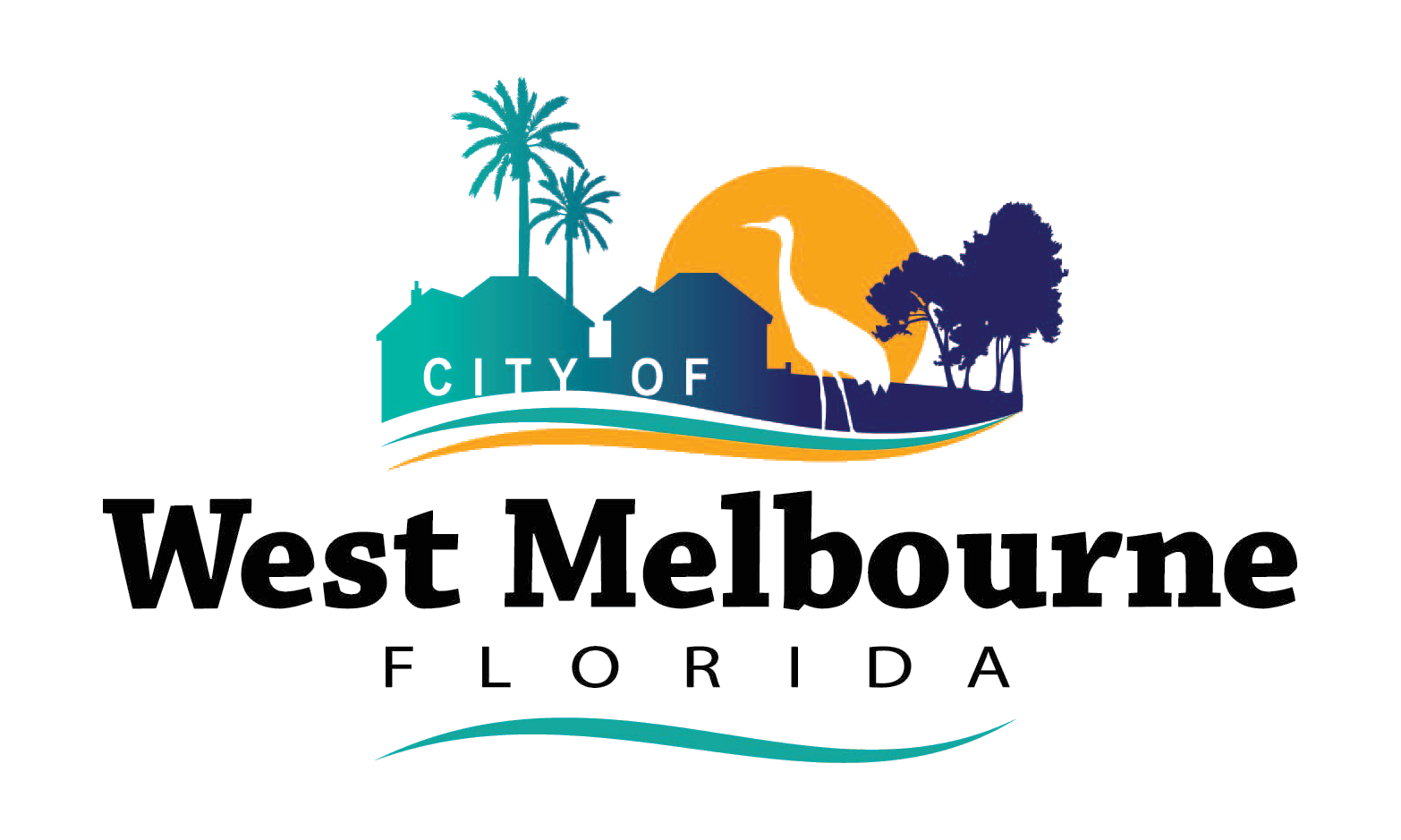 Flag Of West Melbournec Florida