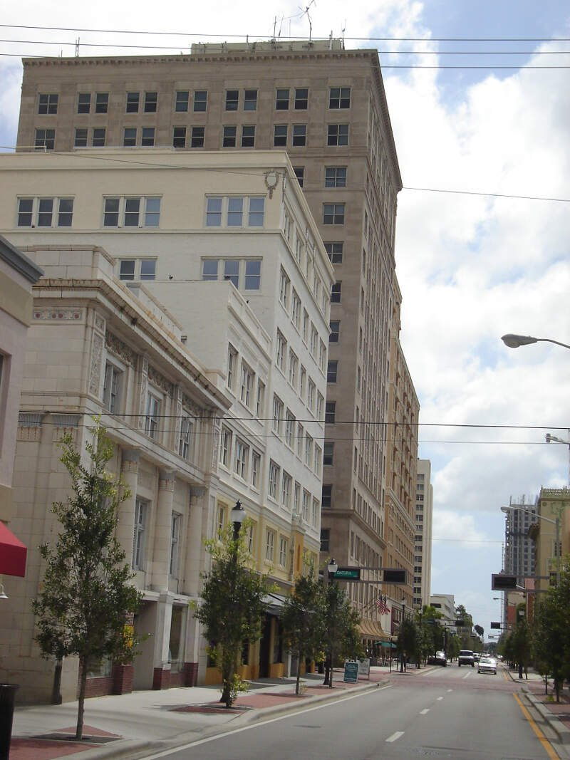 Olive Avenue And Datura Street In West Palm Beachc Fl