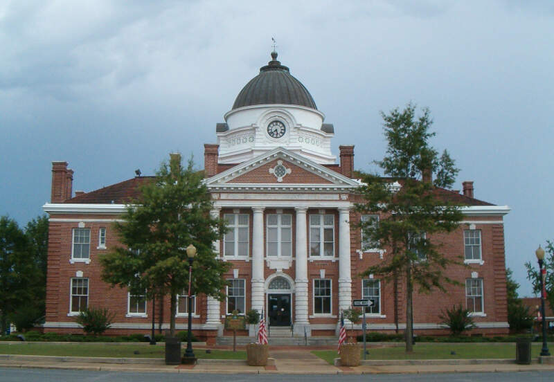 Early County Courthouse In Blakely Georgia