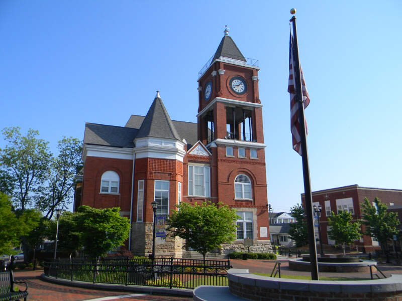 Historical Paulding County Courthouse   Dallas Ga
