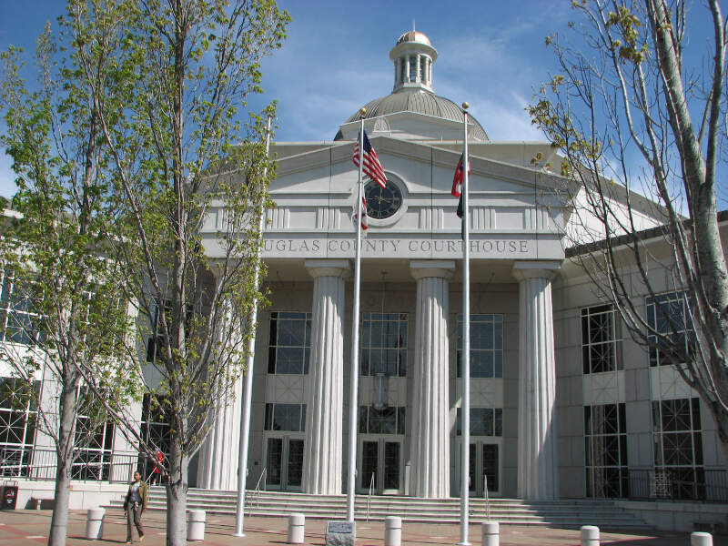 Usa Georgia Douglasville County Courthouse