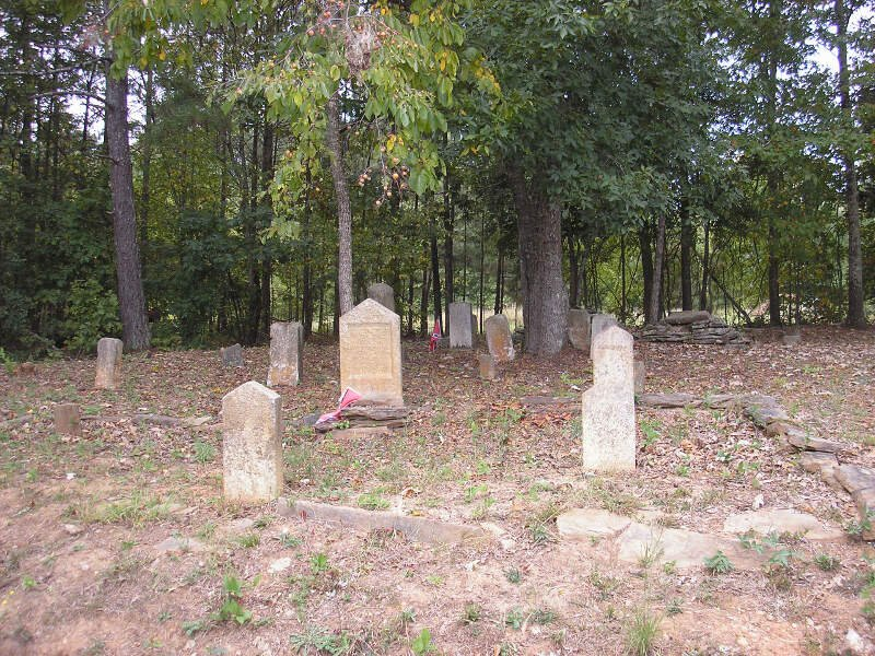 Basket Creek Cemetery   White Section