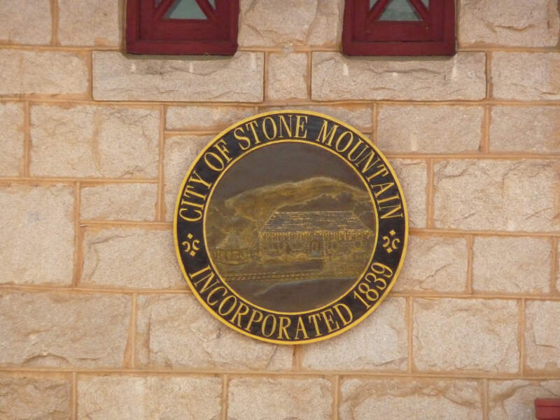 Stone Mountainc Georgia Seal