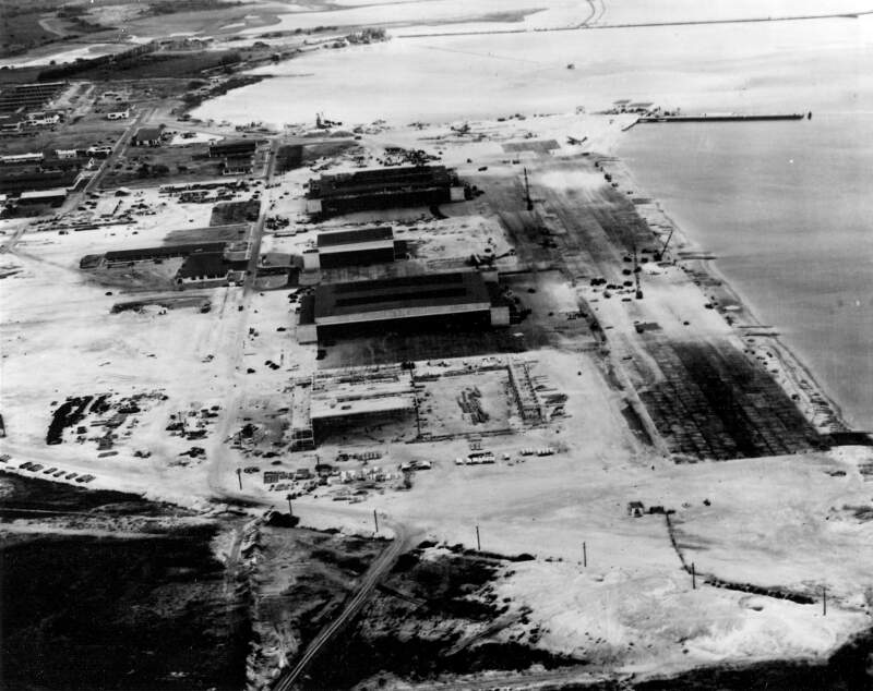 Naval Air Station Kanoehe Bay During The Pearl Harbor Raid
