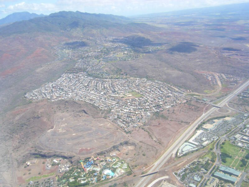 Makakilo Oahu From Air