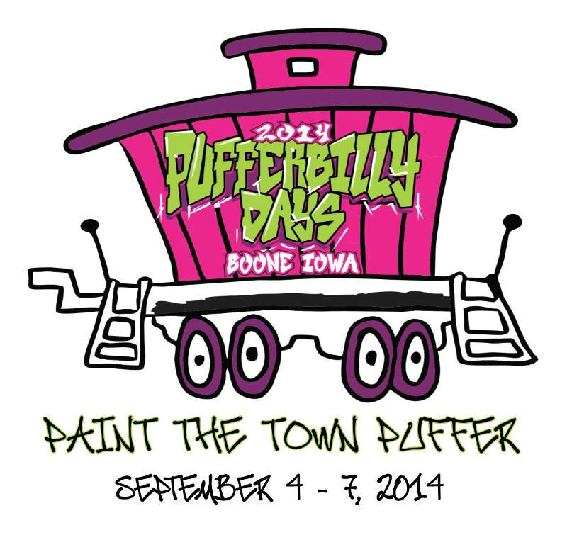 Official Pufferbilly Days Logo Cropped