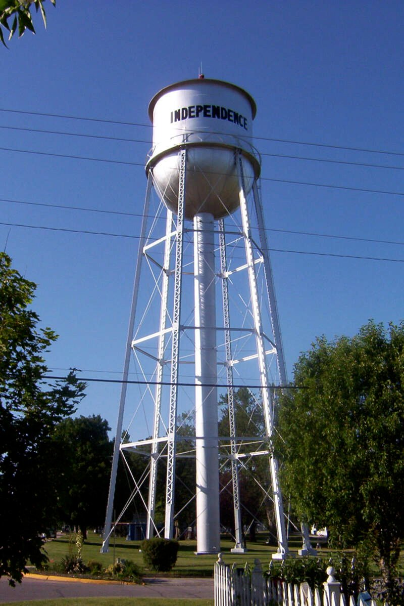 Independenceiawatertower