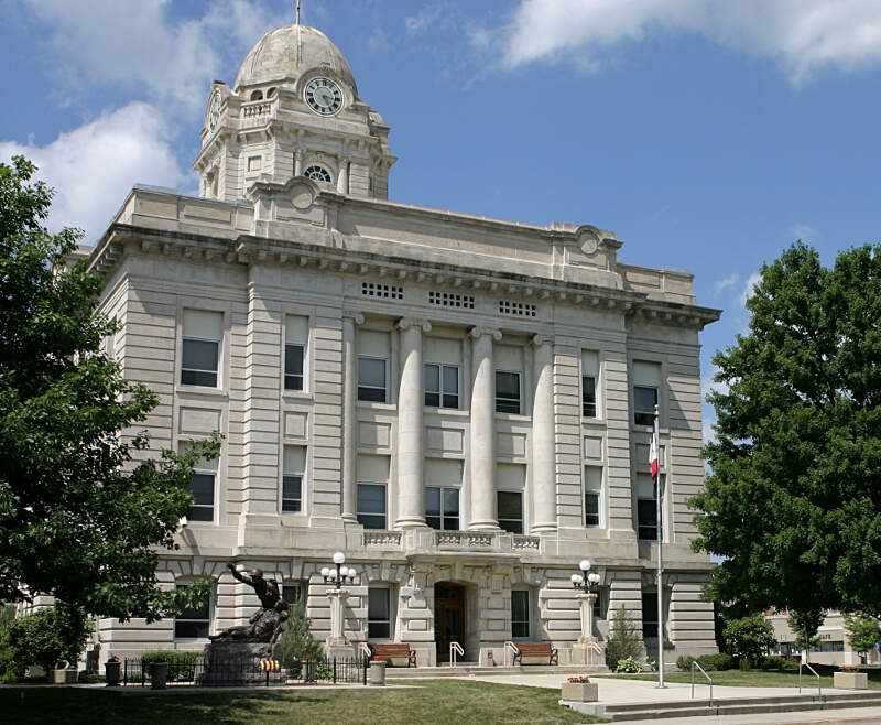 Jasper Countyc Iowa Courthouse