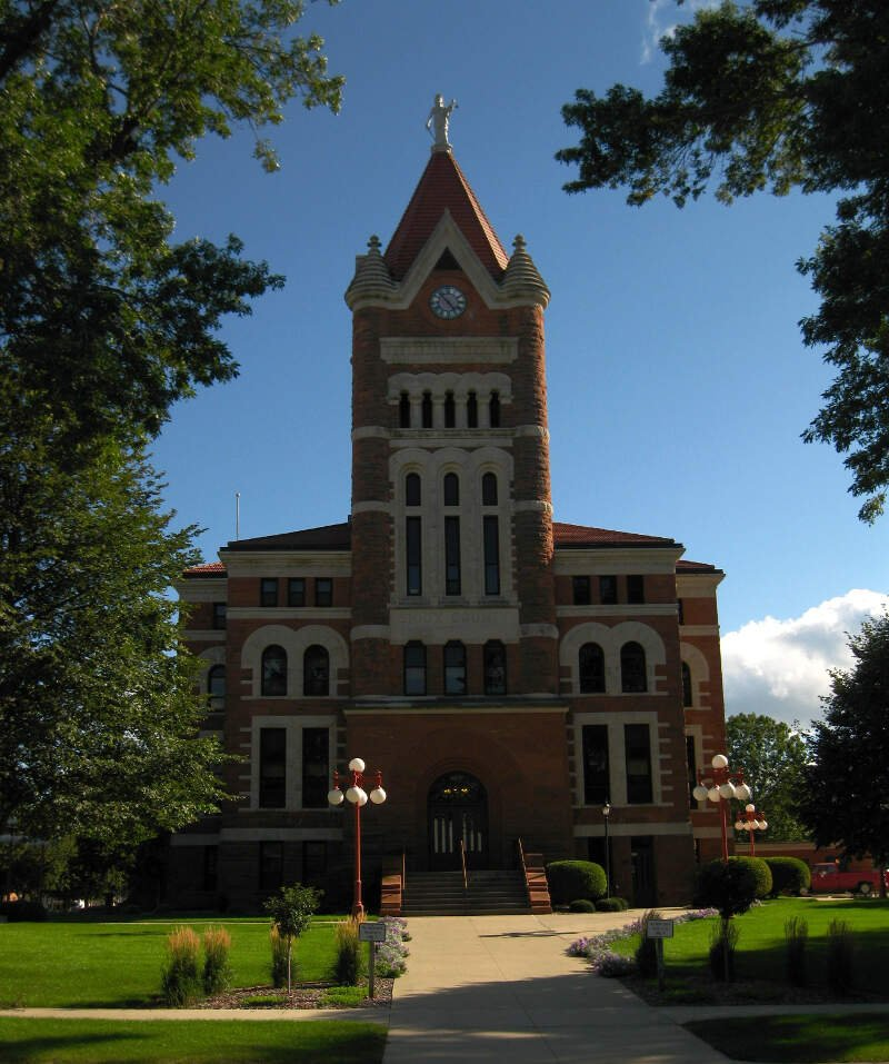 Sioux County Ia Courthouse