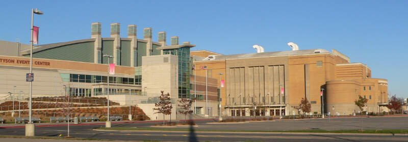 Sioux City Events Center From Sw