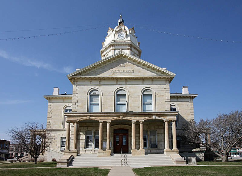 Madison Countyc Iowa Courthouse