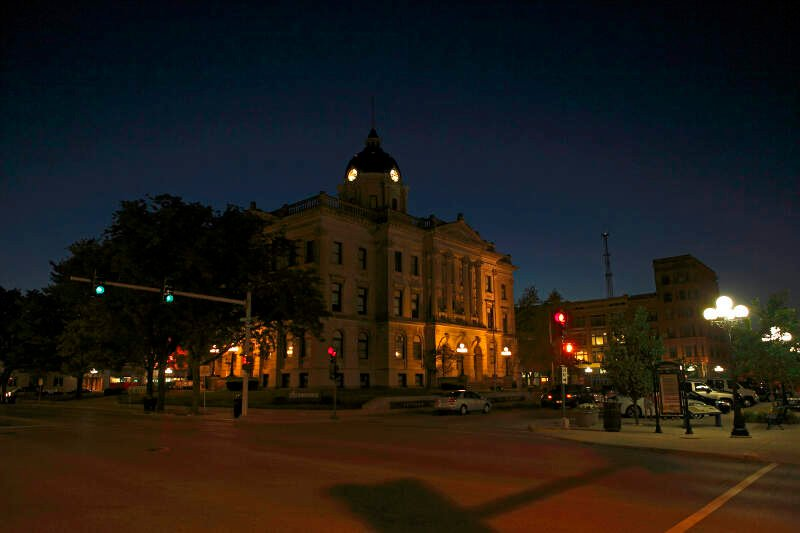 Old Mclean County Illinois Court House   Bloomington