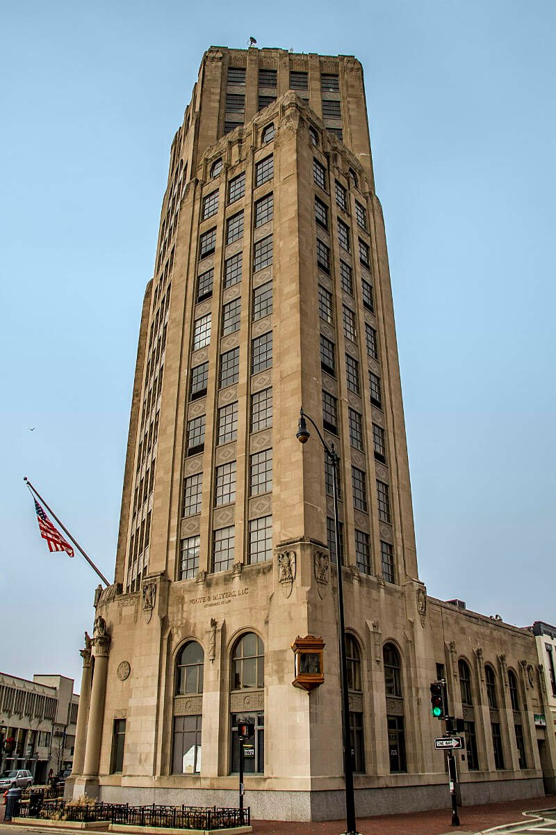 Elgin Tower Building  January