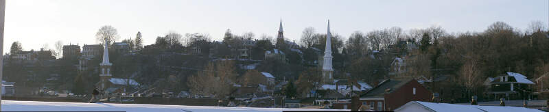 Galena Illinois Hill From The Levee Lighter N Cropped