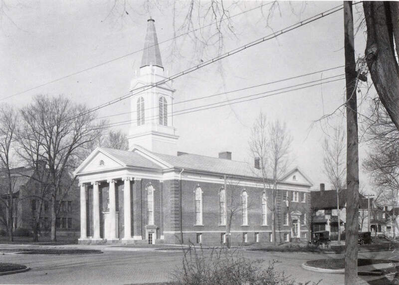 First Congregationalist Church In Geneseo Illinois