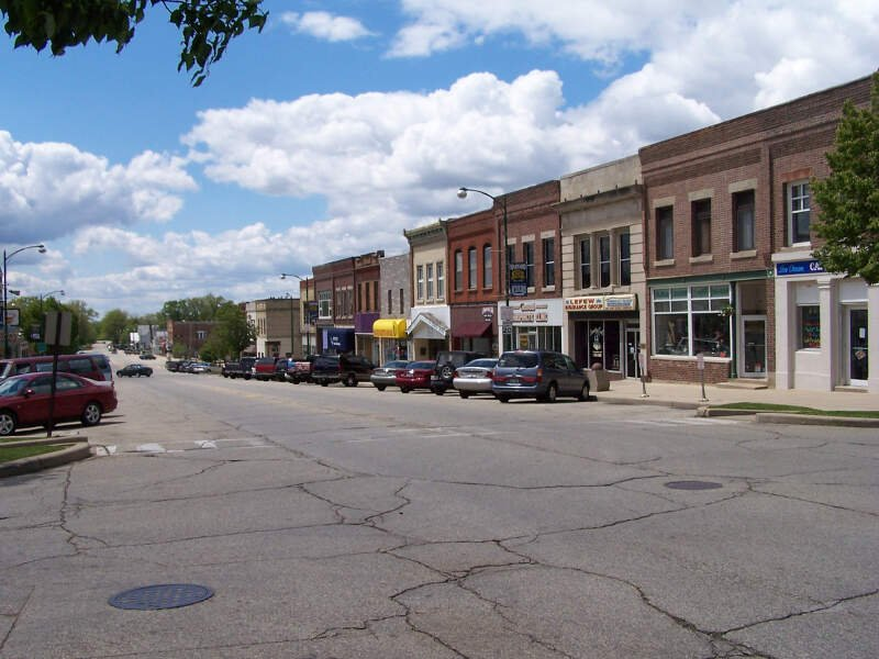 Harvard Illinois Downtown