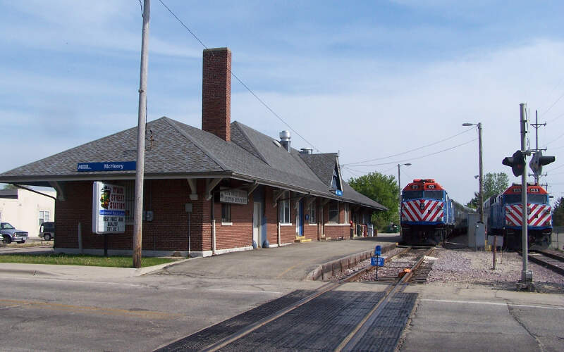 Mchenry Metra Station
