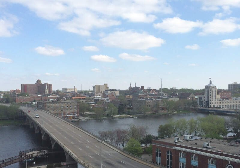 Overview Of Eastern Downtown Rockford