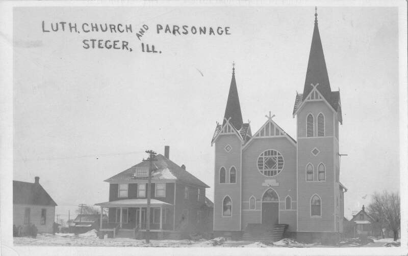 Lutheran Church And Parsonage