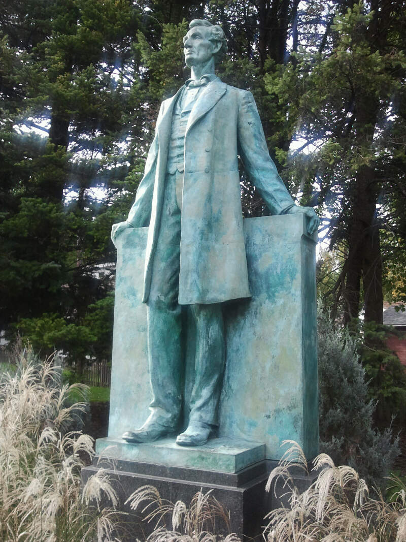 Lincoln The Lawyer By Lorado Taft