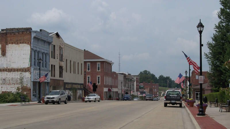 Downtown Vandalia Il