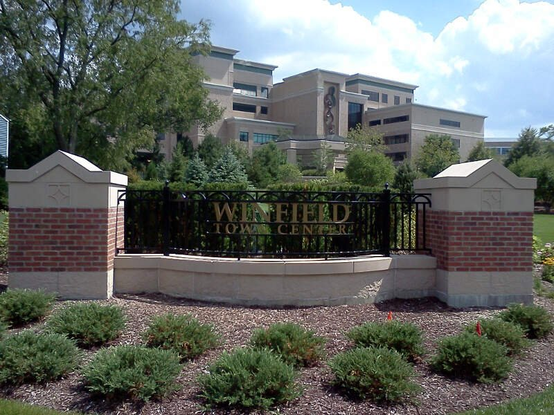 Winfieldc Illinois Town Center