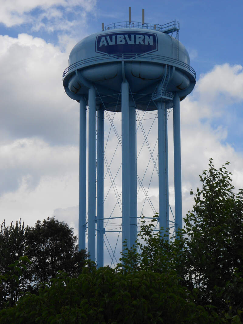 Auburn In Water Tower