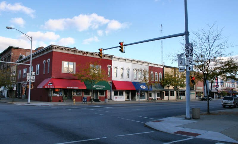 Goshen Indiana Downtown