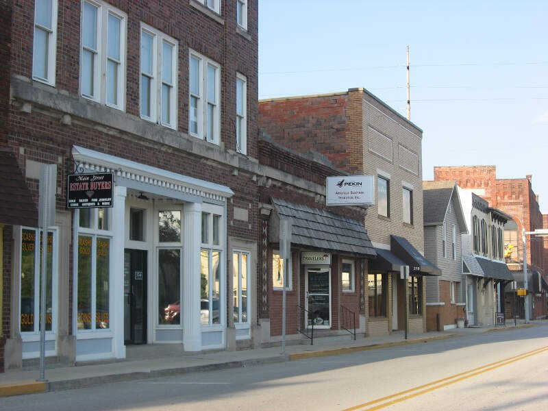 Greenwood Commercial Historic District