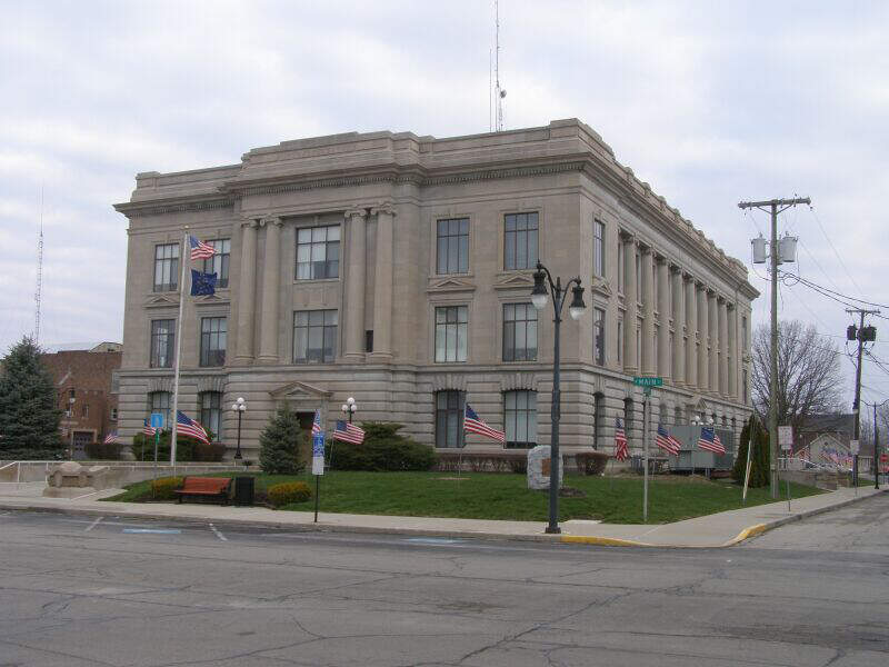 Jay County Courthouse P