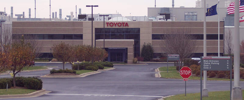 Toyota Motor Manufacturing Indiana Front Entrance