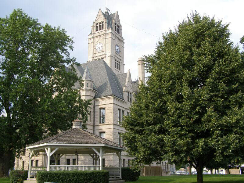 Jasper County Courthouse Rensselaer Indiana