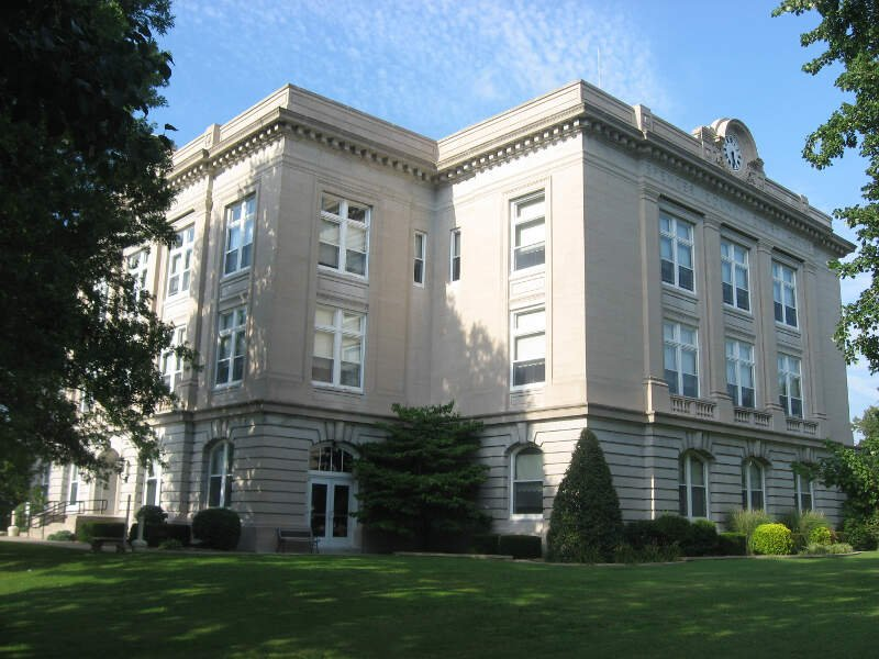 Spencer County Courthouse In Rockport