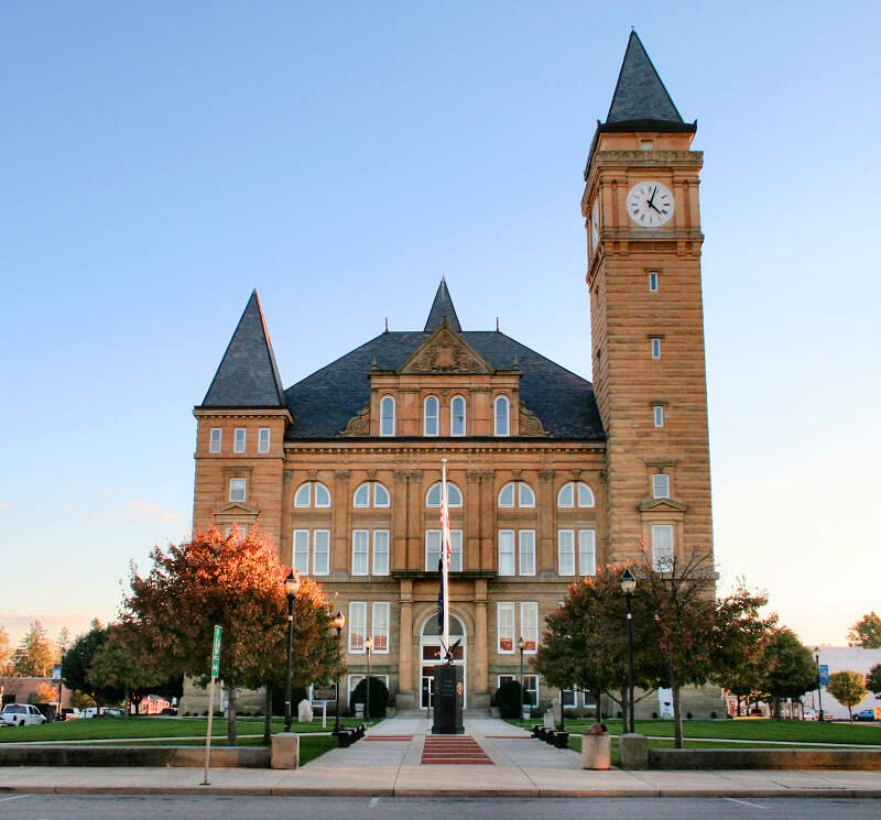 Tipton Indiana Courthouse