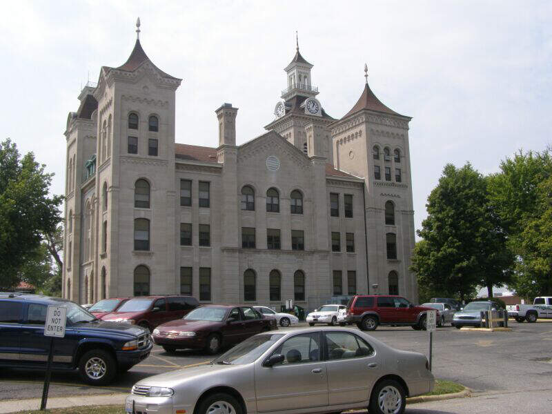 Knox County Courthhousec Vincennes