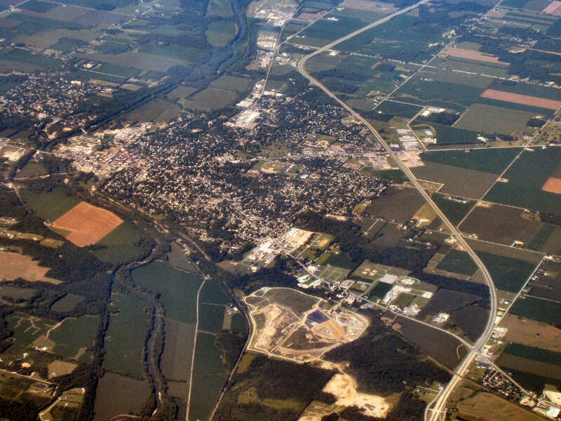 Wabash Indiana From Above