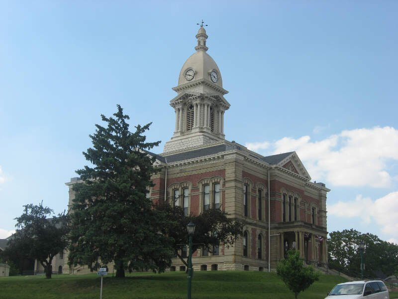 Wabash County Courthouse In Wabash